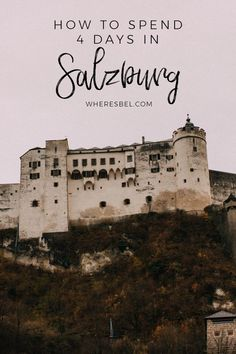 How to Spend 4 Days in Salzburg, Austria Things to Do in Salzburg. Sound of Music Salzburg. Salzburg Food, Christmas Markets, Shopping, Hotel. Travel in Europe.