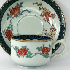 Vintage Japanese Tea Cup Set Saucer China Cup and by RhapsodyAttic, $18.00