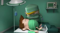 LES METIERS (JOBS) : ep2. La Chirurgienne (Surgeon) on Vimeo