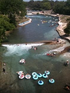 """People in other places think """"tubing"""" involves actual rapids / difficulty. 