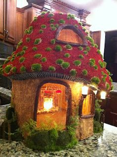 Gnome Mushroom House (created By Greggu0027s Miniatures    See His Blog Here)  Fairy