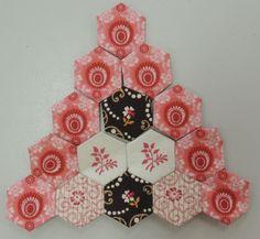 hexie pyramid - try as Christmas tree pattern