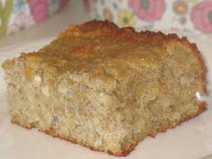 Grain Free Banana Macadamia Bread
