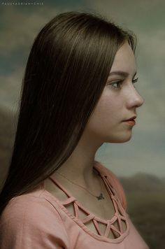 Portrait of a young girl II by Paul Adrian Chis