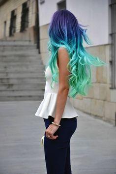 Cool hair.