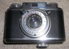 vintage Bolsey 35mm Camera Model B2 Synchromatic Wollensak 44mm Lens