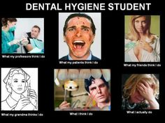 Life of a dental hygiene student