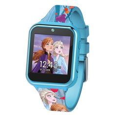 Shop for All Frozen in Frozen. Buy products such as Frozen 2 iTime Interactive Smart Kids Watch 40 MM at Walmart and save. Frozen Disney, Frozen Kids, Frozen Frozen, Frozen Room, Frozen Dolls, Frozen Stuff, Frozen Theme, Best Kids Watches, Cool Watches