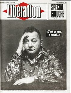Tribute to Coluche Magazine L, Journal, Music Film, Cover Pages, Newspaper, Graphic Design, Retro, Movie Posters, Google