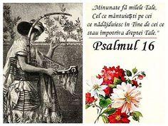 Psalmul 16 – o rugăciune a celui îndurerat Vines, Books, Alba, Bible, Libros, Book, Arbors, Book Illustrations