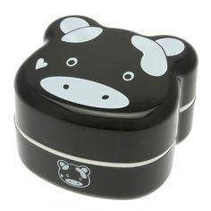 Kotobuki 2-Tier Bento Box, Black Cow Kotobuki http://www.amazon.com/dp/B007HXNY0Q/ref=cm_sw_r_pi_dp_VjJ4ub0RH0J2Q