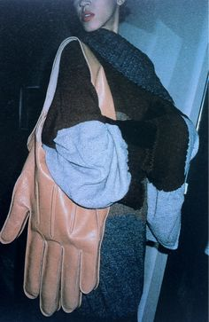 // glove bag by Jean Charles de Castelbajac, 1984