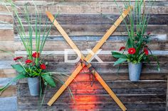 Barn Wood Walls Decorations by DX Design