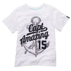 Short-Sleeve Slogan Tee carters/oshgosh