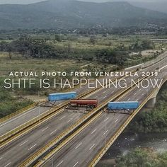 """Tips for SHTF on Instagram: """"Happening now in Venezuela.  The government is blocking aid. It's a true SHTF situation there. Are you ready? This could happen anywhere if…"""" Urban Survival, Survival Guide, Get Home Bag, Make A Plan, Emergency Response, Bug Out Bag, First Novel, Shtf, Prepping"""