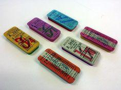 Vintage Ticket Mini Tin - Bus Train Tram - Retro Sliding Tin - Home Sew Gift in Home, Furniture & DIY, Home Decor, Boxes, Jars & Tins | eBay