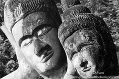 two lying Buddha - Buddha Park #buddhapark #vientiane #buddha #laos #lao #travel