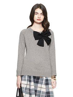 Kate Spade Bow Sweater April 2017