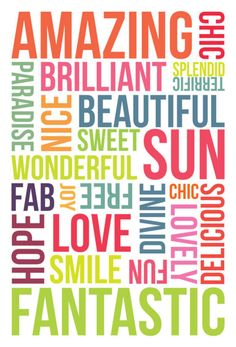Lots of great words! Use for Project Life. Project Life Scrapbook, Project Life Album, Inspirational Quotes With Images, Motivational Quotes For Success, Positive Words, Positive Thoughts, Positive Vibes, Word Cluster, Sharing Quotes