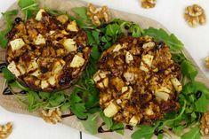 Gevulde portobello geitenkaas Land, Cauliflower, Vegetables, Head Of Cauliflower, Veggies, Cauliflowers, Veggie Food, Vegetable Recipes