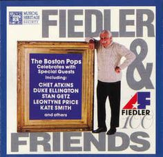 Arthur Fiedler Conducting The Boston Pops Orchestra - Fiedler & Friends: buy CD, Comp, RE at Discogs