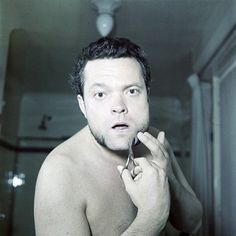 Orson Welles photographed by Walter Carone. 1950