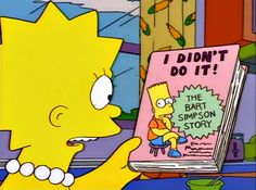 Find images and videos about the simpsons, bart simpson and lisa simpson on We Heart It - the app to get lost in what you love. Simpsons Quotes, Simpsons Cartoon, Lisa Simpson, Homer Simpson, Far Side Comics, How To Cut Your Own Hair, Batman, The Simpsons, Cool Stuff