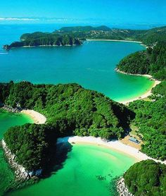 Abel Tasman National Park, South Island, New Zealand by Marmor Marmar Honeymoon In New Zealand, New Zealand Travel, Places To Travel, Places To See, Travel Destinations, Rv Travel, Travel Hacks, Travel Tips, Abel Tasman National Park