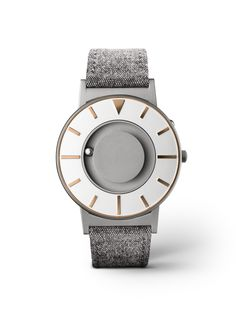 Bradley Compass Gold - beuatiful watch in grey colours. Very elegant and unique