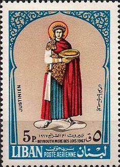 Emperor-Justinian-Lebanese-stamp-Keilo-Jack-site-Centrici.jpg (297×413)
