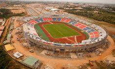 Guinée Equatoriale – CAN 2015: Une pelouse neuve pour le stade de Mongomo - 05/01/2015 - http://www.camerpost.com/guinee-equatoriale-can-2015-une-pelouse-neuve-pour-le-stade-de-mongomo-05012015/?utm_source=PN&utm_medium=CAMER+POST&utm_campaign=SNAP%2Bfrom%2BCamer+Post