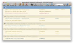 OmniFocus Perspectives Galore - Agendas & Waiting Fors | Simplicity Is Bliss