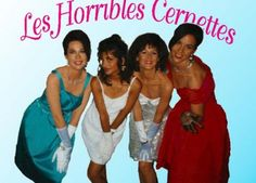 """Les Horribles Cernettes, the girl-group from CERN laboratories, get the honor of the first photo ever posted on the web. Hear their song """"Collider"""" at the link."""