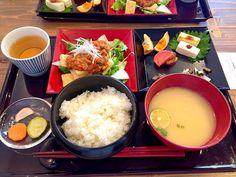 京都嵐山の発酵食堂 カモシカ でランチ 嵐山 ランチ ランチ 食べ物のアイデア