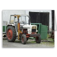 David Brown 995 Tractor, England