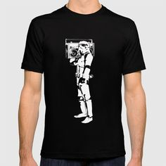 Buy Boombox Trooper T-shirt by redstar04. Worldwide shipping available at Society6.com. Just one of millions of high quality products available. For Denis!