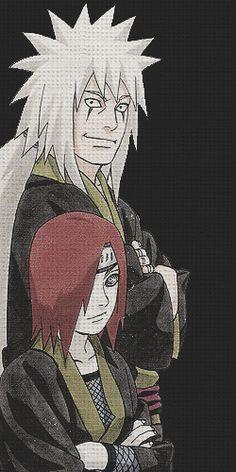 Jiraya and Nagato