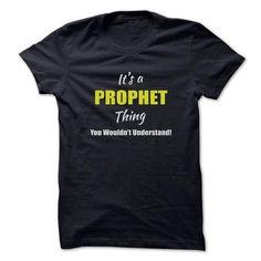 Nice PROPHET T-shirt - Team PROPHET Lifetime Member Tshirt