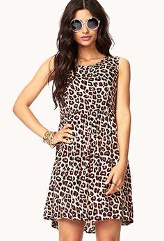 Woven Safari Dress | FOREVER21 - 2000076483