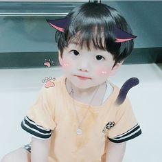 My little brother. Cute Asian Babies, Korean Babies, Asian Kids, Cute Babies, Cute Baby Boy, Cute Boys, Kids Boys, Baby Kids, Little Babies