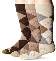abe15da33312 Gold Toe Men s Carlyle Argyle Crew Socks