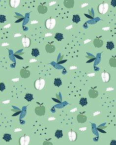 Apples n' Blackberries by Paula McGloin | Society6