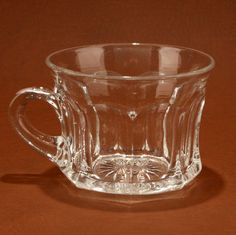 Heisey Colonial Punch Cup 400 Clear Glass 4 oz Vtg.