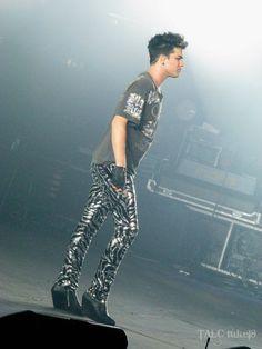 Adam Lambert, London show, 12th July 2012 | Source: @tuke18
