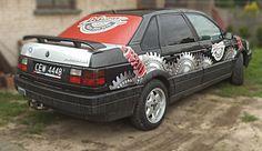 Naklejki na samochód dla autoserwisu D.Gajzner 3