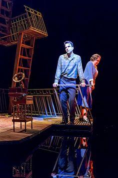 TheGlassMenagerie, Zachary Quinto & Cherry Jones, American Repertory Theater, 2013