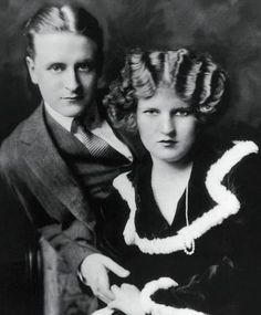 This a picture of F Scott Fitzgerald and his wife Zelda.