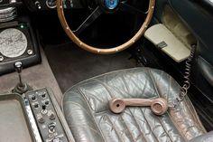 How James Bond communicates on the job: the phone in his 1964 Aston Martin DB5. Photo via clublexus.com.