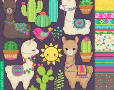 Llamacorns and Rainbows clipart - Unicorn Llamas - clipart - Alpaca Clip Art - Digital Alpacas, Illustration Papillon, Llama Clipart, Arte Latina, Album Photo Scrapbooking, Rainbow Clipart, Cute Llama, Llama Alpaca, Cards
