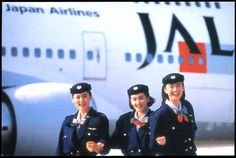JAL (Japan) Flight Attendants Uniforms